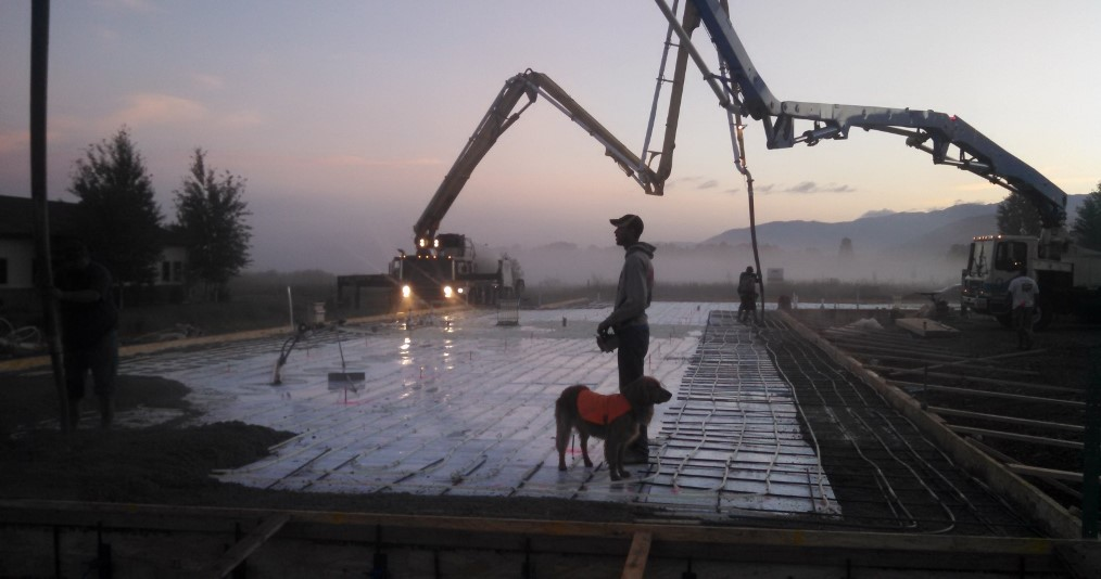 Alliance Concrete Pumping Gallery |